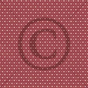 Bilde av Papirdesign mønsterark - Hjerteklem