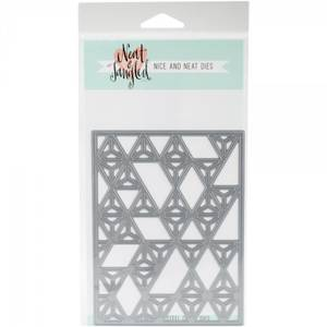 Bilde av Neat & Tangled Die - Modern Triangle Cover Plate