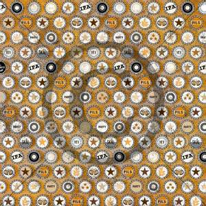 Bilde av Papirdesign mønsterark - Kork