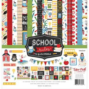 Bilde av Echo Park Collection Kit 12X12 - School Rules