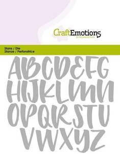 Bilde av CraftEmotions - Alphabet Handlettering Uppercase