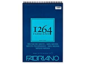 Bilde av Fabriano 1264 Mixed Media – Spiral 300g A3 30ark