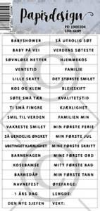 Bilde av Papirdesign Klistremerker - Lille skatt
