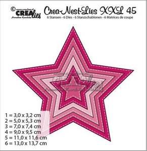 Bilde av Crealies Crea-Nest-dies XXL no 45 Stjerne
