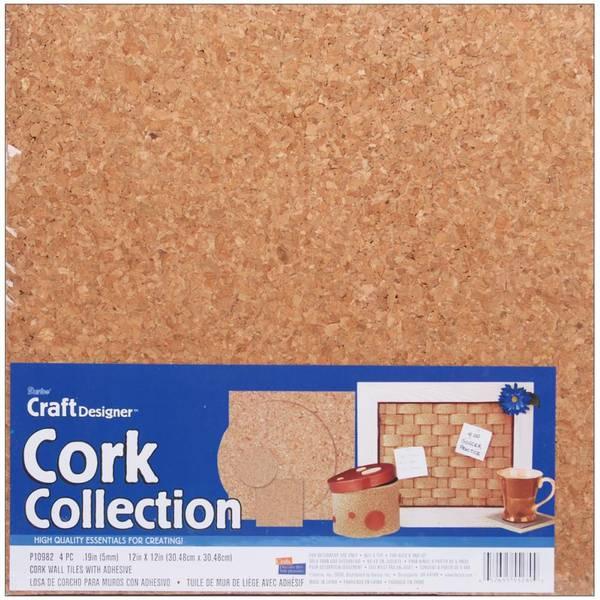 Darice Cork Tiles 12