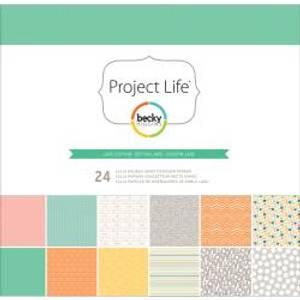 Bilde av Project Life - Jade Edition - 24stk