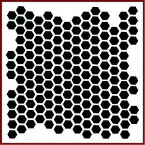 Bilde av Imagination Crafts - Stencil - ST Honeycomb
