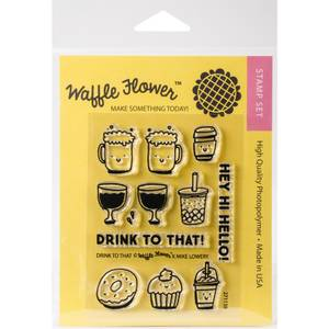 Bilde av Waffle Flower Crafts Clear Stamps 3x4