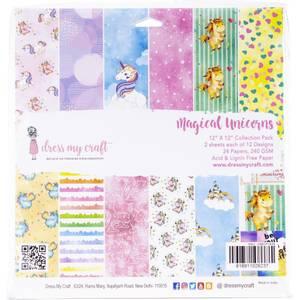 Bilde av Dress My Crafts Single-Sided Paper Pad 12