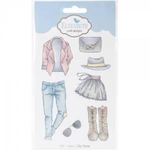 Bilde av Elizabeth Craft - Clear Stamp - Fashions 1 Clear