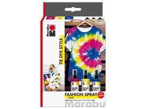 Bilde av Marabu Fashion Spray Set – TIE DYE STYLE