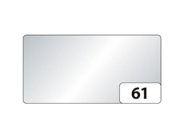 Folia Fotokartong A4 – 10ark – 61 Sølv blank