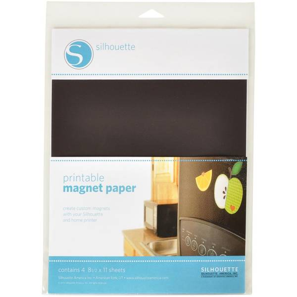 Silhouette Printable Magnet Paper 8.5