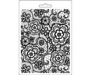 Bilde av Stamperia Soft Mould A5 Flowered Texture