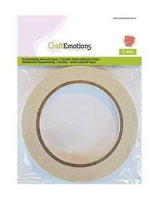 Bilde av CraftEmotions Double-sided adhesive tape 9mm 20