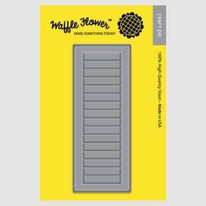 Bilde av Waffle Flowers - Window Shutters