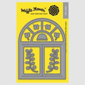 Bilde av Waffle Flowers  - Arch Window