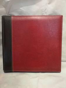 Bilde av Album tofarget rød 12x12