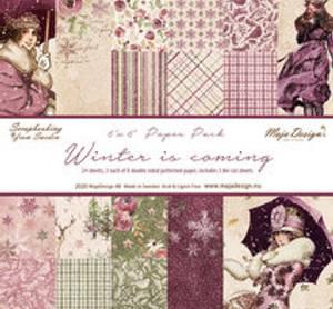 Bilde av Winter is coming 6x6 paper pad