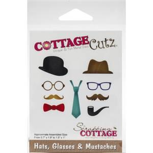 Bilde av Cottage Cuts - Hats, Glasses & Mustaches .7