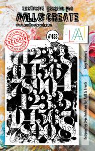 Bilde av Aall & Create A7 #433 Inky Numbers