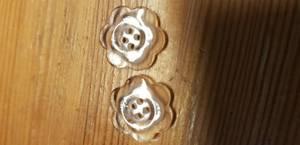 Bilde av Knapp 2-hulls blomst  15 mm.