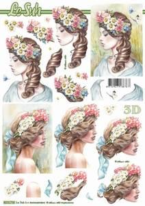 Bilde av 3D ark - Damer med