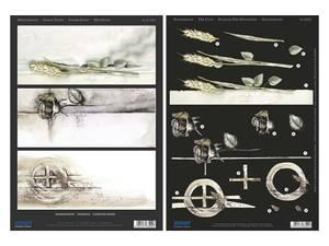 Bilde av 3D ark utst. Kondolanse 2, 2