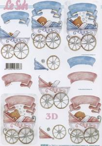 Bilde av 3D ark - Baby