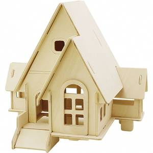 Bilde av 3D Pusslespill, Hus med