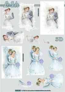 Bilde av 3D ark - Bryllup