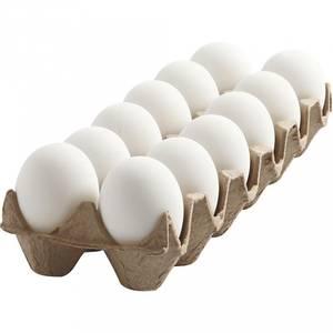 Bilde av Egg, plast, H: 6 cm, hvit,