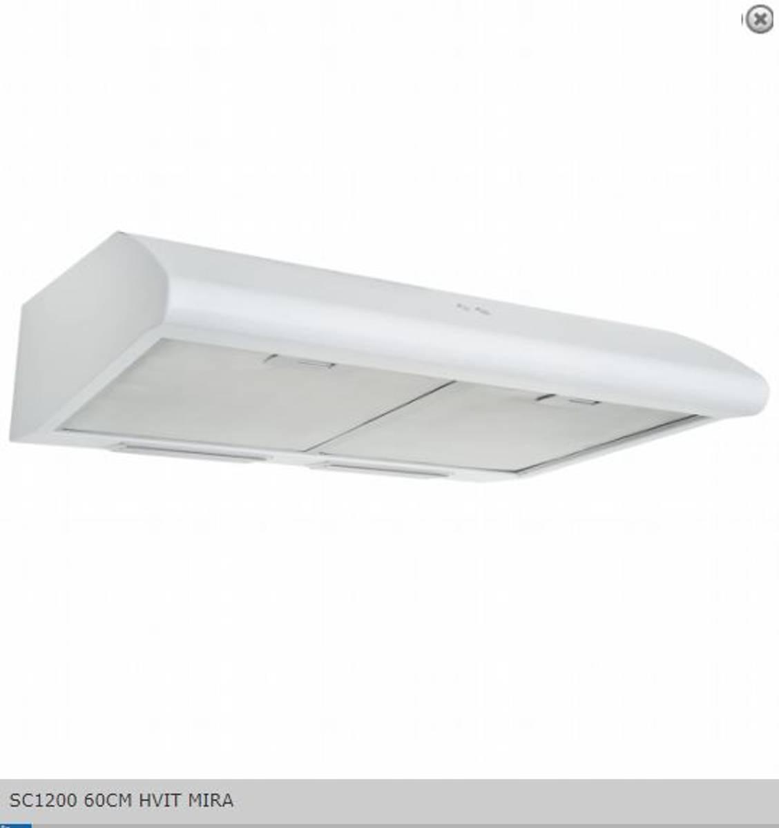 Silverline Ventilator Fellsavtrekk / Sentralventilasjon60 CM HV