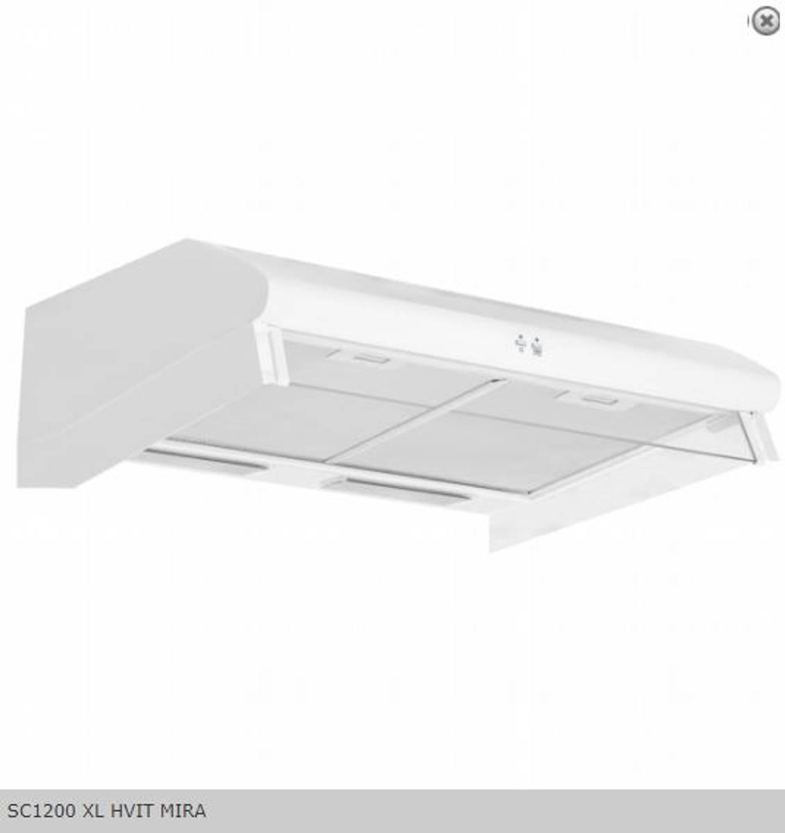 Silverline Ventilator Fellsavtrekk / SentralventilasjonHVIT MIR