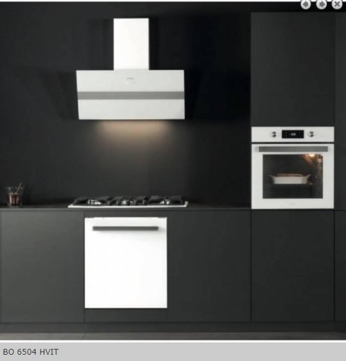 Silverlineintegrert stekeovn hvitBO 6504 HV