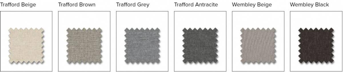 Artwood 3 seter Utesofa sort MARBELLA 12-16619 med puter