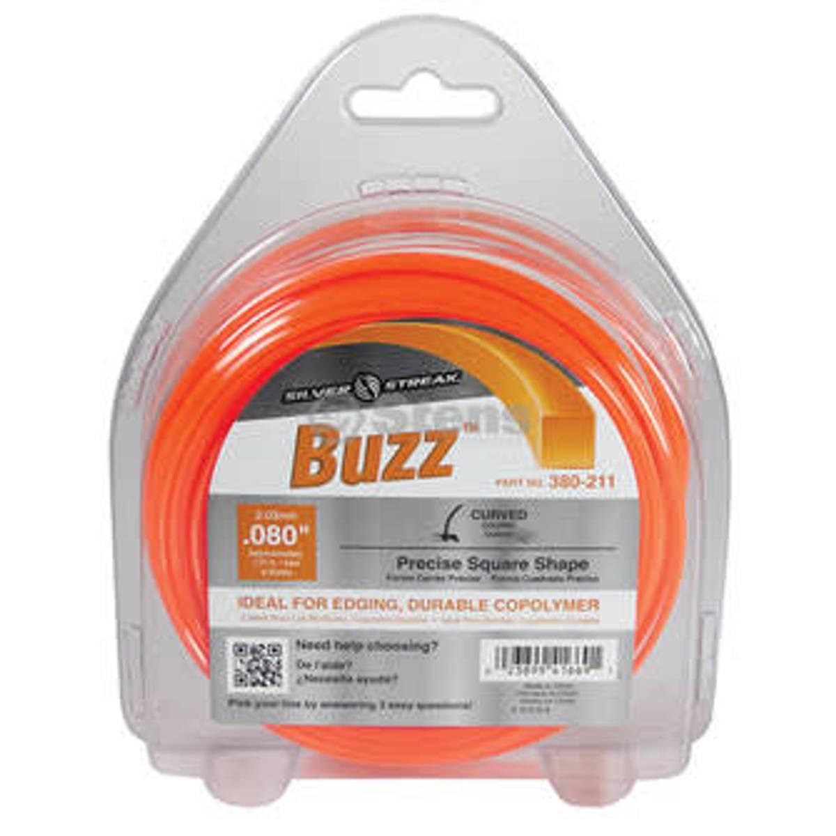 Stens trimmertråd Buzz 2,0 mm x 53meter