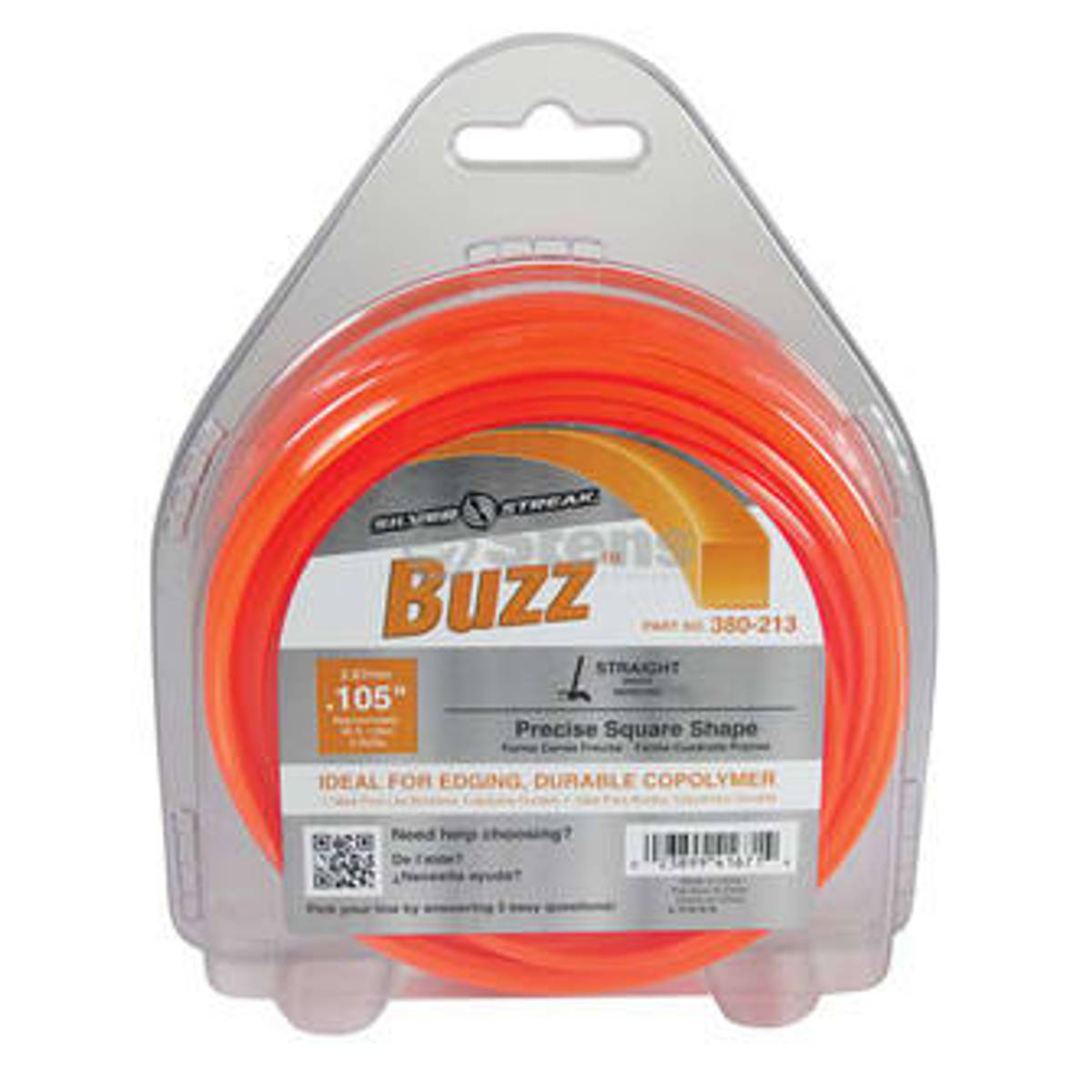 Stens trimmertråd Buzz 2,4mm x 82meter