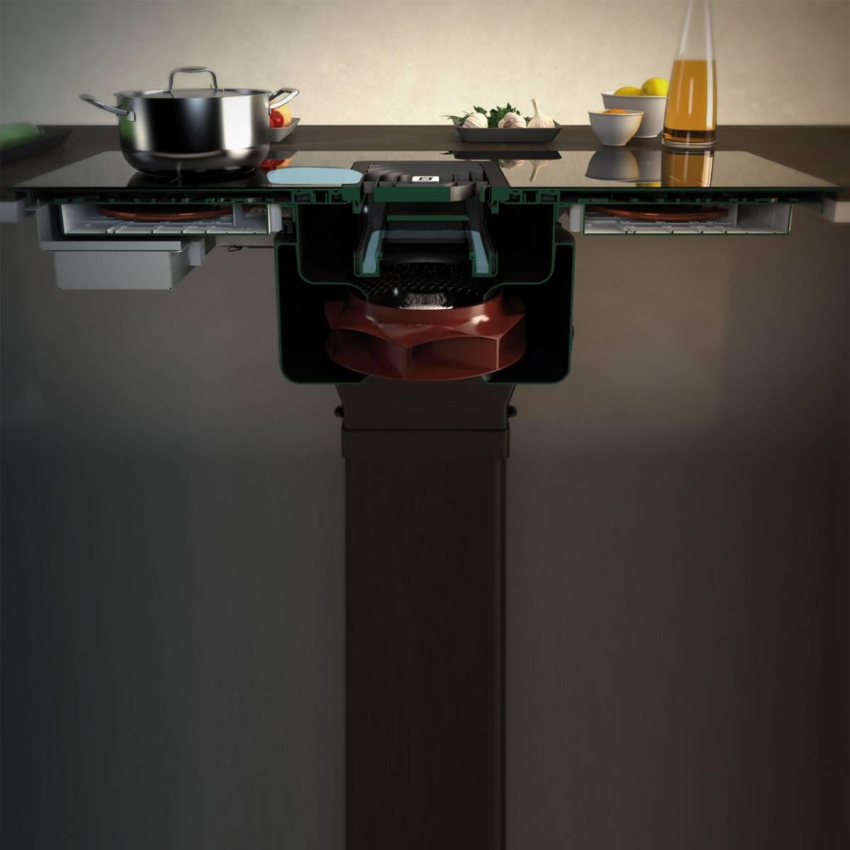 Eico ventilator platetopp GALILEO SMART BK F830 + long life kull