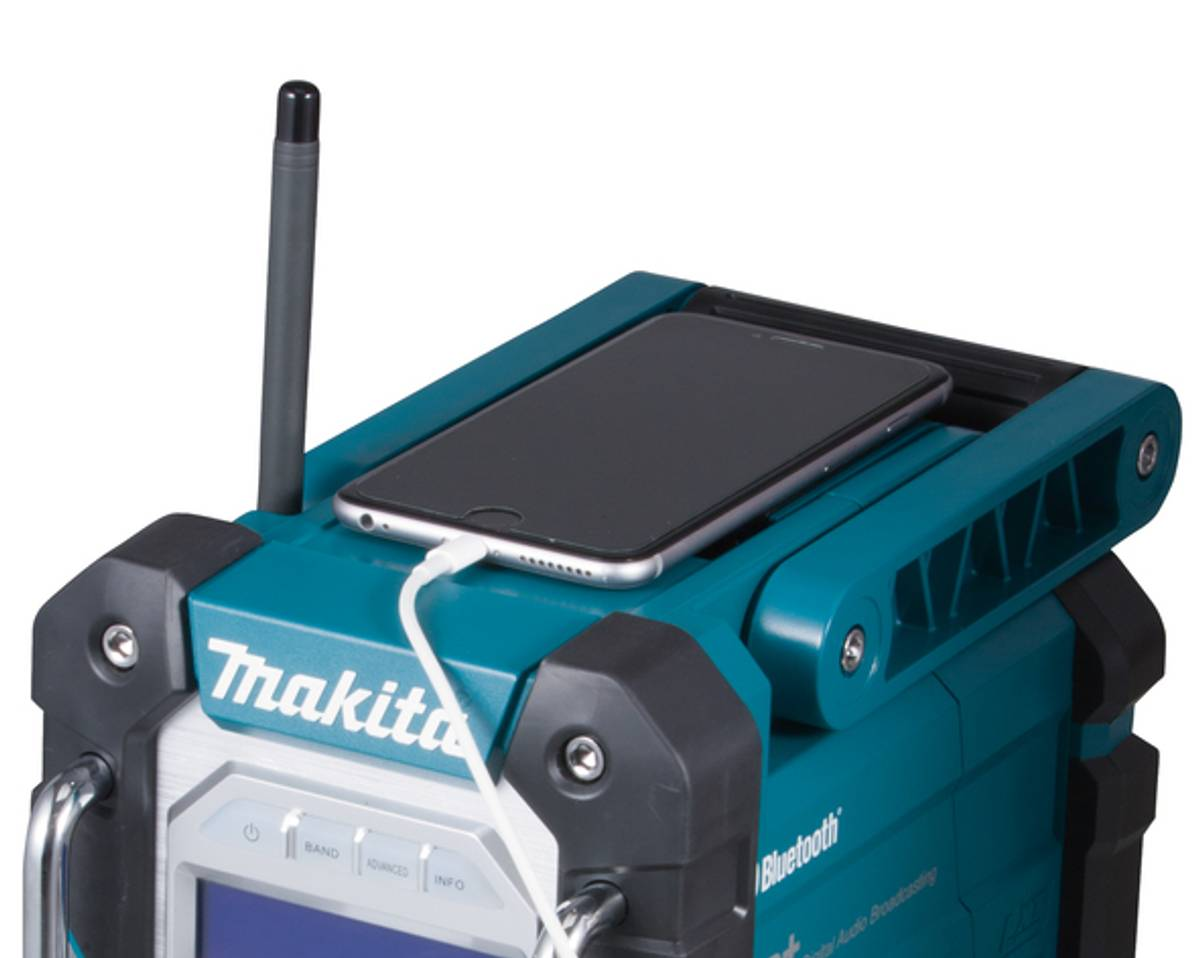 MAKITA RADIO DAB+ 7.2-18V/AC A2DP DMR112