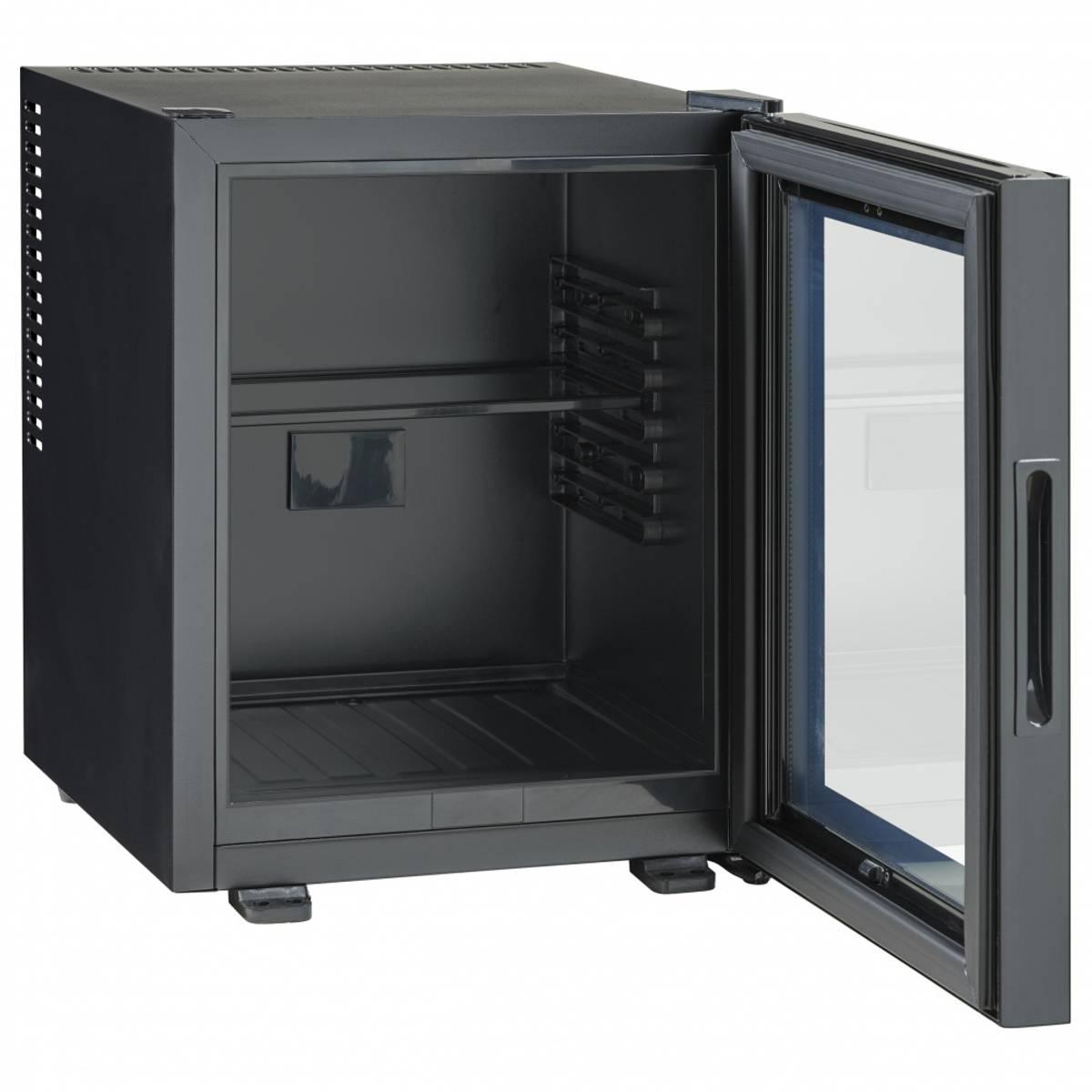 Scandomestic kjøleskap displaysvart 35 liter MB 32 BGD