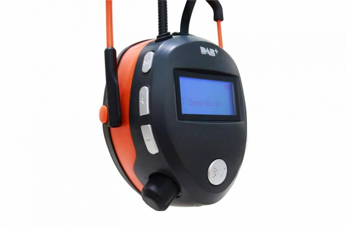 Boxer hørselvern DAB+/FM/BT/Lyttefunksjon