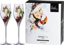 Champagne Glass - 2 stk i gaveeske Sky Sensis plus