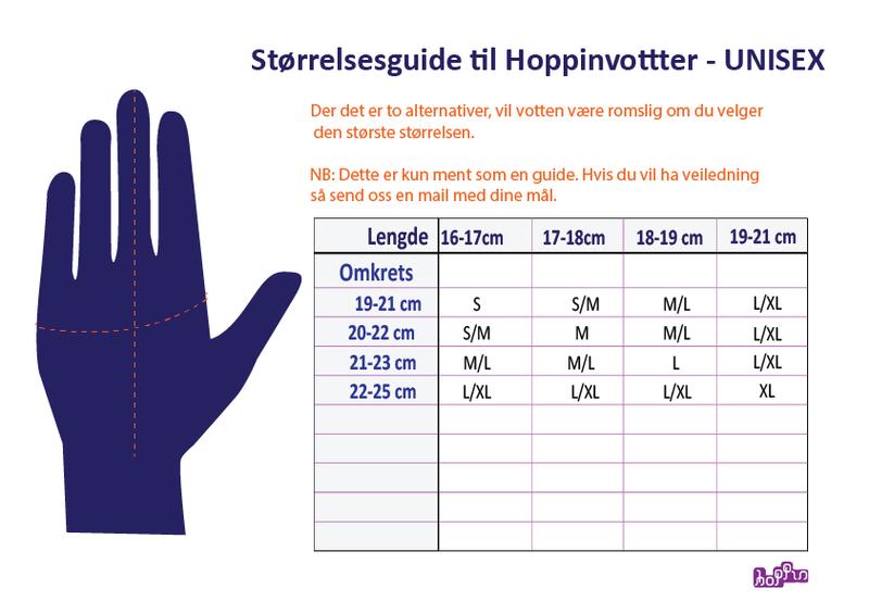 HOPPIN REGNVOTTER VS4 - Vanntette votter i PU