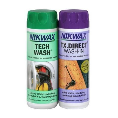 Bilde av NIKWAX TX DIR /TECH WASH - 2PK impregnering og vask