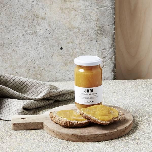 Syltetøy, kokosnøtt & pasjonsfrukt, Nicolas Vahè