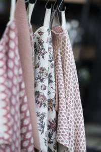 Bilde av Kjøkkenhåndkle lite mønster faded rose