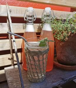 Bilde av Glassflaske med patentlokk 1/2 liter