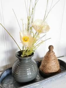 Bilde av Vase mørkegrønn H: 13 cm