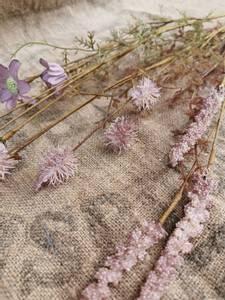 Bilde av Stilk med blomst lilla/grønn